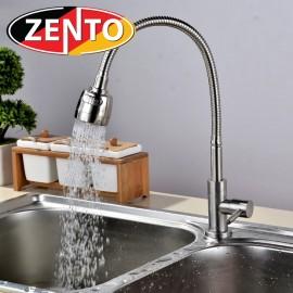 Vòi rửa bát đơn inox 304  Zento SUS4639